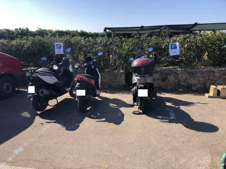 Invasione di scooter a San Nicola