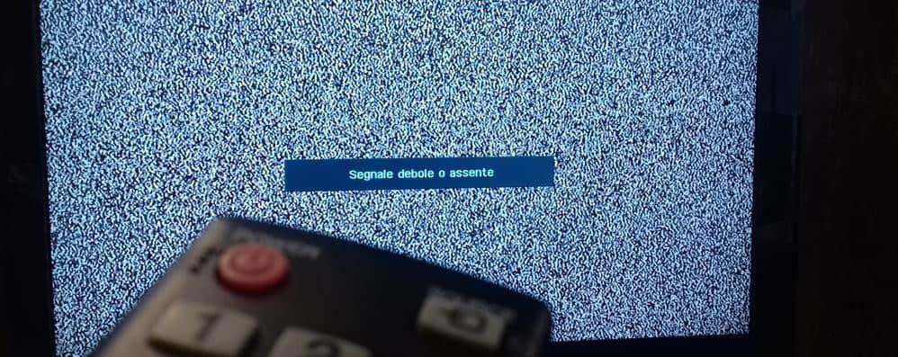 Niente segnale tv? Colpa del caldo