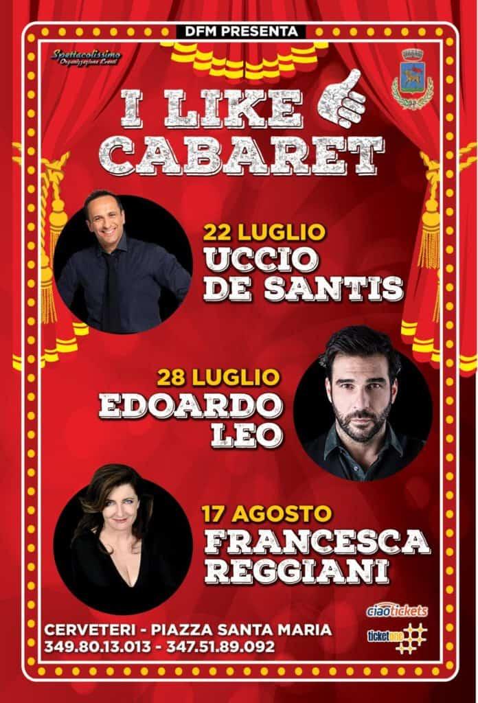 Cerveteri, estate con Uccio De Santis, Edoardo Leo, Giobbe Covatta e Francesca Reggiani