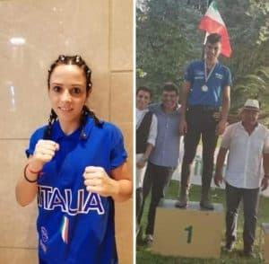 Tolfa tifa Rachele Tidei e Stefano della Corte impegnati in due campionati internazionali
