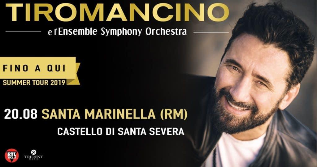 Serata di musica al Castello di Santa Severa con Tiromancino