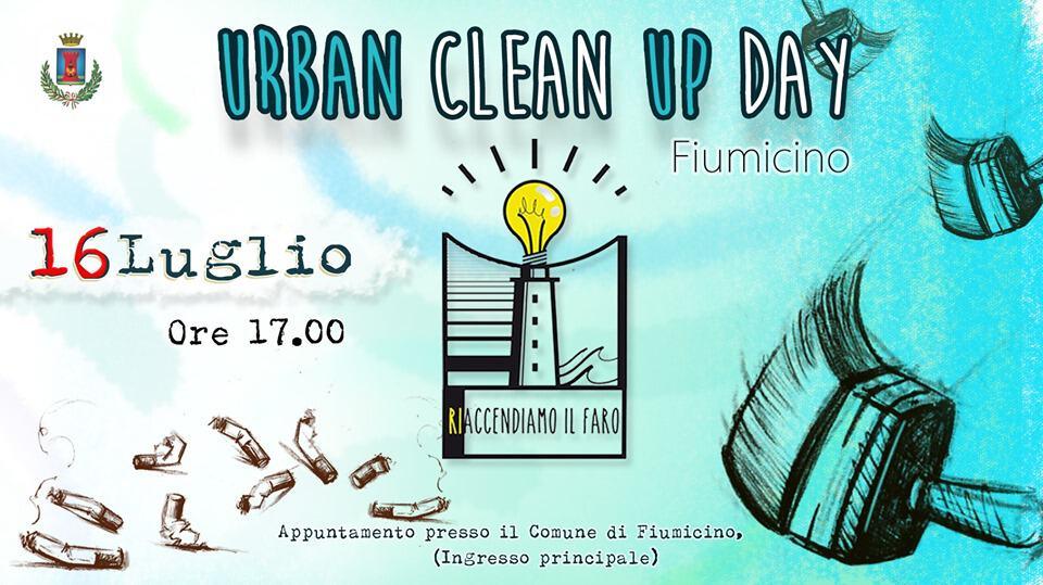 Urban Clean Up Day Fiumicino: tutti pronti a prendere in mano palette e pennelli!