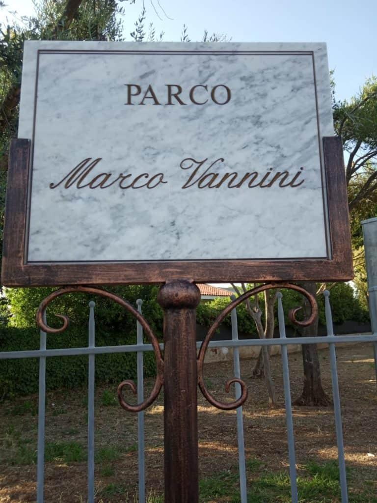 """Cerveteri, il parco di """"Ex Caerelandia"""" è diventato """"Parco Marco Vannini"""""""