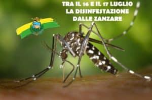 Manziana, questa notte la disinfestazione contro le zanzare