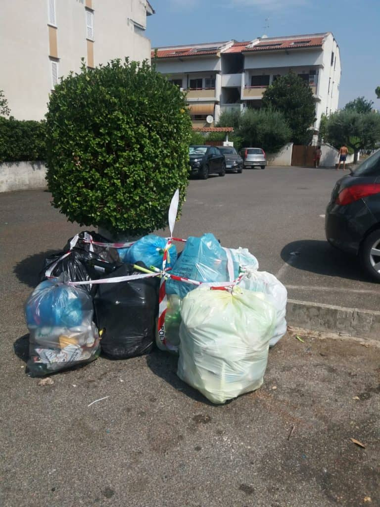 Cerveteri, blitz delle Guardie Ecozoofile di Fare Ambiente in Via Felsina