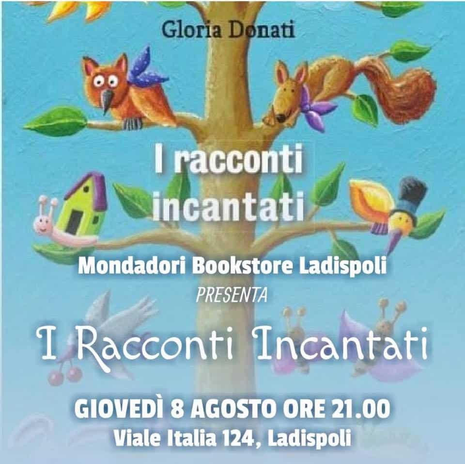 Ladispoli, domani i 'Racconti Incantati' di Gloria Donati