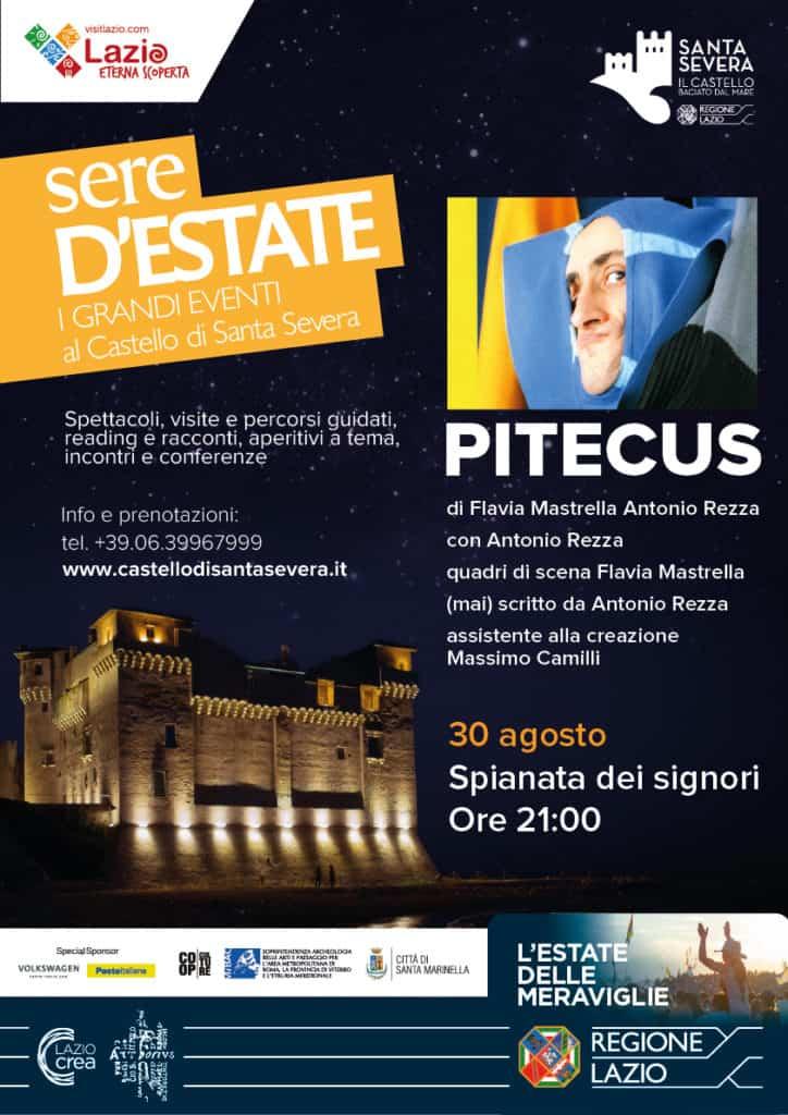 Sere d'estate: al Castello di Santa Severa il duo RezzaMastrella in PITECUS