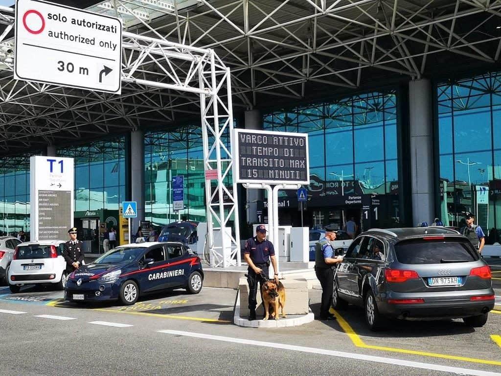 Fiumicino, controlli all'aeroporto: quattro denunce