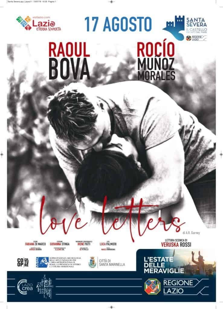 Sere d'estate al Castello: Raoul Bova e Rocio Munoz Morales in Love Letters
