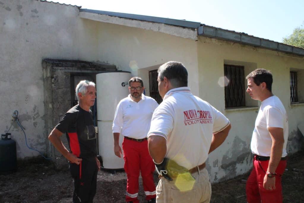 Ladispoli, Nuova Acropoli a Campotosto in aiuto delle popolazioni terremotate