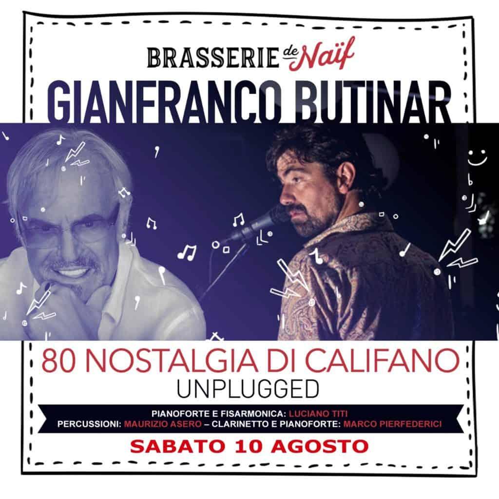 Notte di San Lorenzo a Cerenova, tributo live al maestro Franco Califano