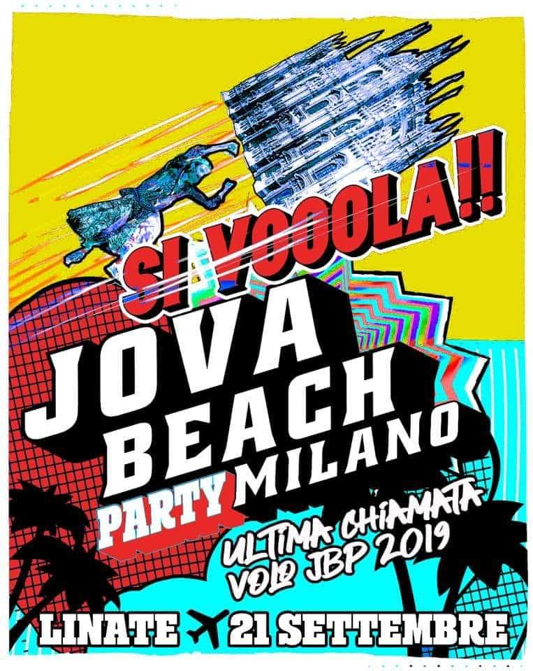 Jova Beach Party a sopresa: concerto a Linate nell'aeroporto chiuso