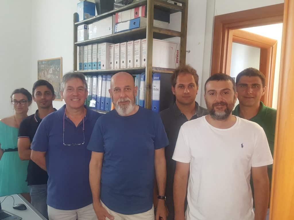 Civitavecchia, il Sindaco Tedesco visita il Laboratorio di Oceanologia Sperimentale ed Ecologia Marina