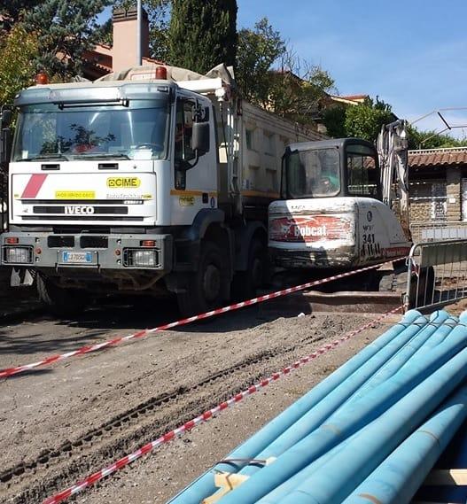 Al via i lavori di bonifica della rete idrica del vicinato a Manziana
