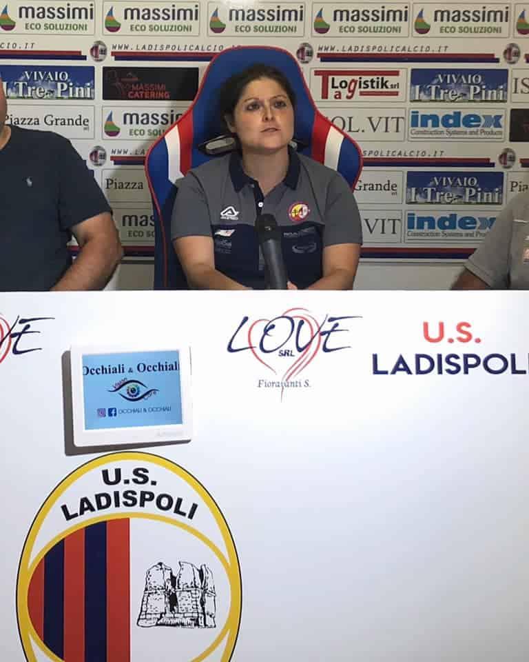 Coach e staff presentati alla stampa: nasce l'Us Ladispoli femminile