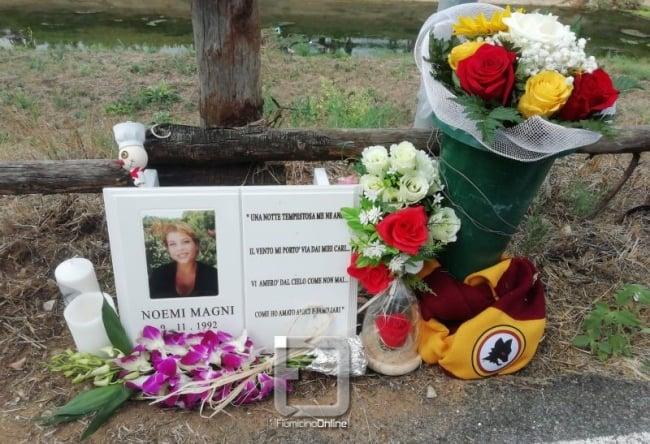 Focene, oggi la benedizione della lapide in memoria di Noemi Magni