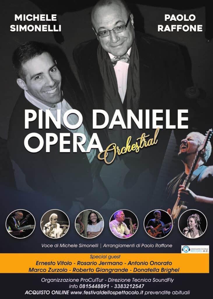 Sere d'Estate al castello: il 16 agosto Pino Daniele Opera in concerto