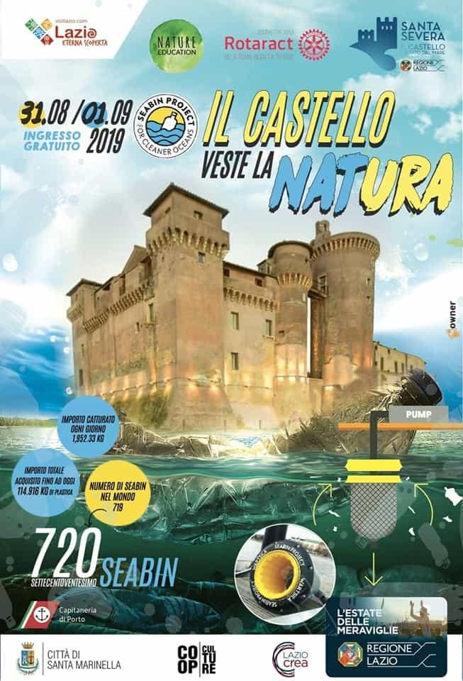 """Santa Severa, """"Il Castello veste la Natura"""""""