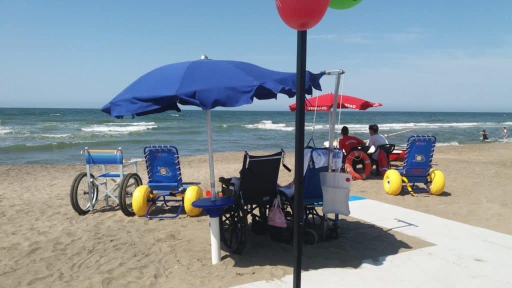 """Palidoro, Magionesi: """"Grazie a casa Ronald una spiaggia accessibile a tutti"""""""