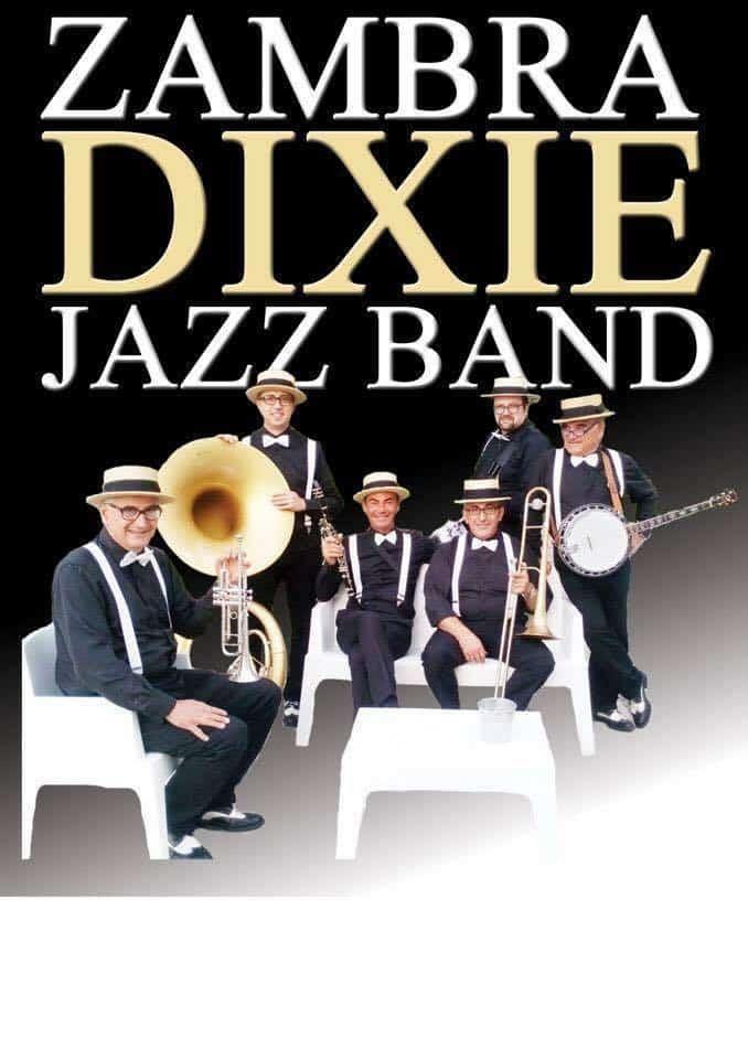 Campo di Mare, stasera dall'Associazione Nautica la Zambra Dixie Jazz Band in concerto