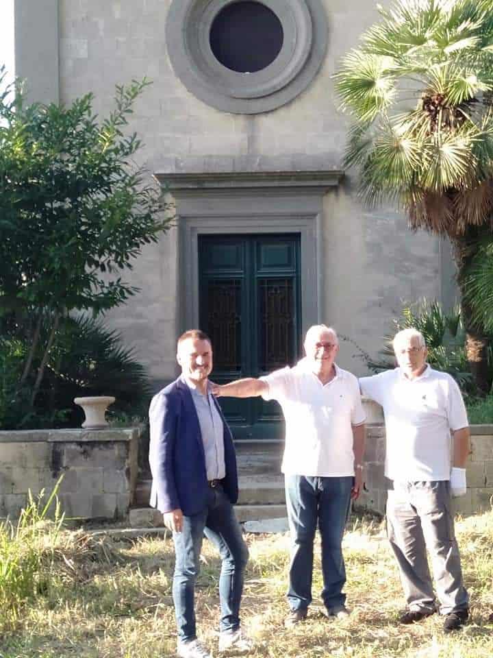 Visite illustri e proposte di crowdfunding per Villa Falgari