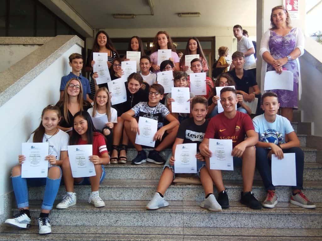 """Ladispoli: alla Melone gli studenti si """"laureano"""" in inglese e francese"""
