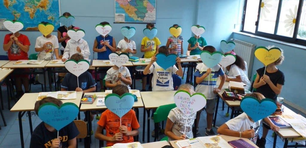 Friday for Future, gli alunni di Ladispoli 1 contro i cambiamenti climatici