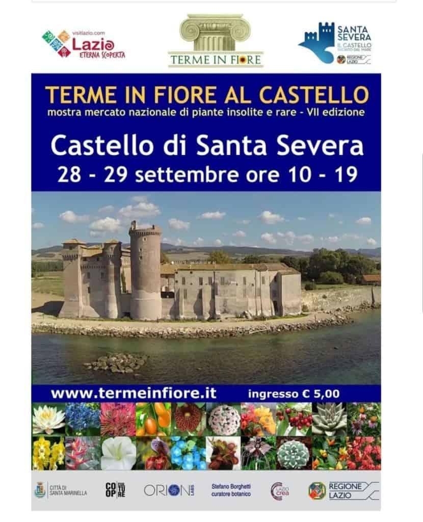 """Santa Marinella, """"Terme in Fiore"""": la mostra dedicata al giardinaggio"""