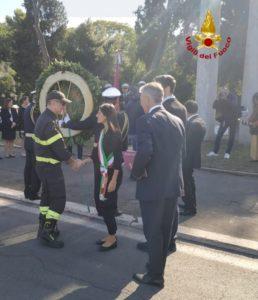 Attentato 11 settembre, il Comandante VVF Boscaino alla cerimonia di commemorazione delle vittime