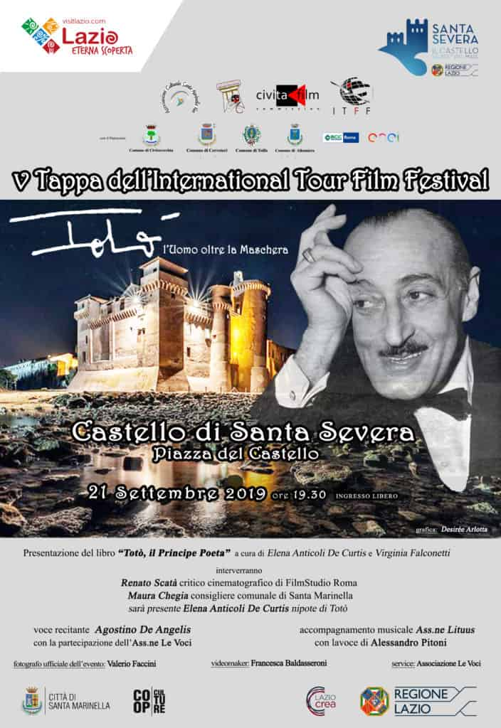Santa Severa: al castello Elena Anticoli De Curtis