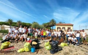 Santa Marinella, grande successo al 'World Cleanup Day' con l'Ass. Nature Education