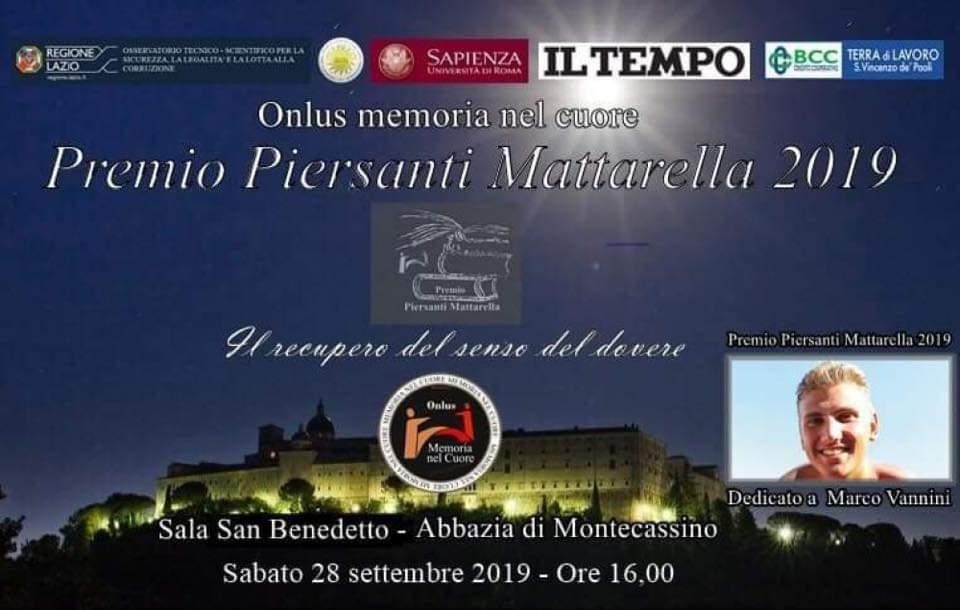 Sabato il Premio giornalistico Piersanti Mattarella, dedicato a Vannini