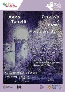 Al Castello di Santa Severa, la Mostra 'Tra Cielo e Terra' dell'artista Anna Tonelli