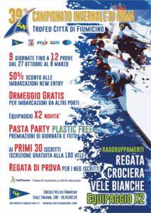 Fiumicino, al via il 39esimo Campionato Invernale di Vela