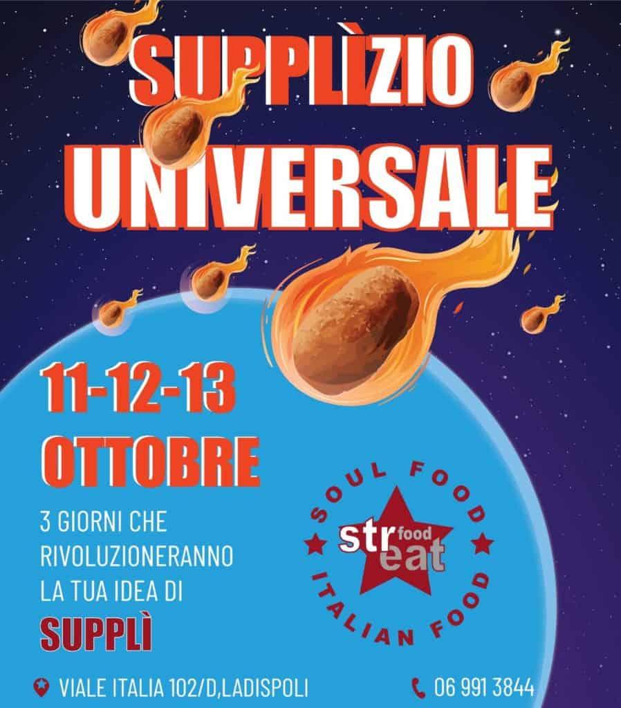 A Ladispoli arriva il supplì-zio universale da Streatfood!