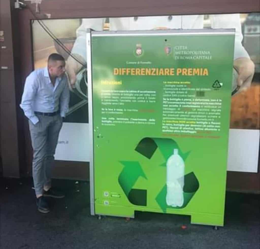L'iniziativa è stata adottata come progetto pilota dalla Regione Lazio