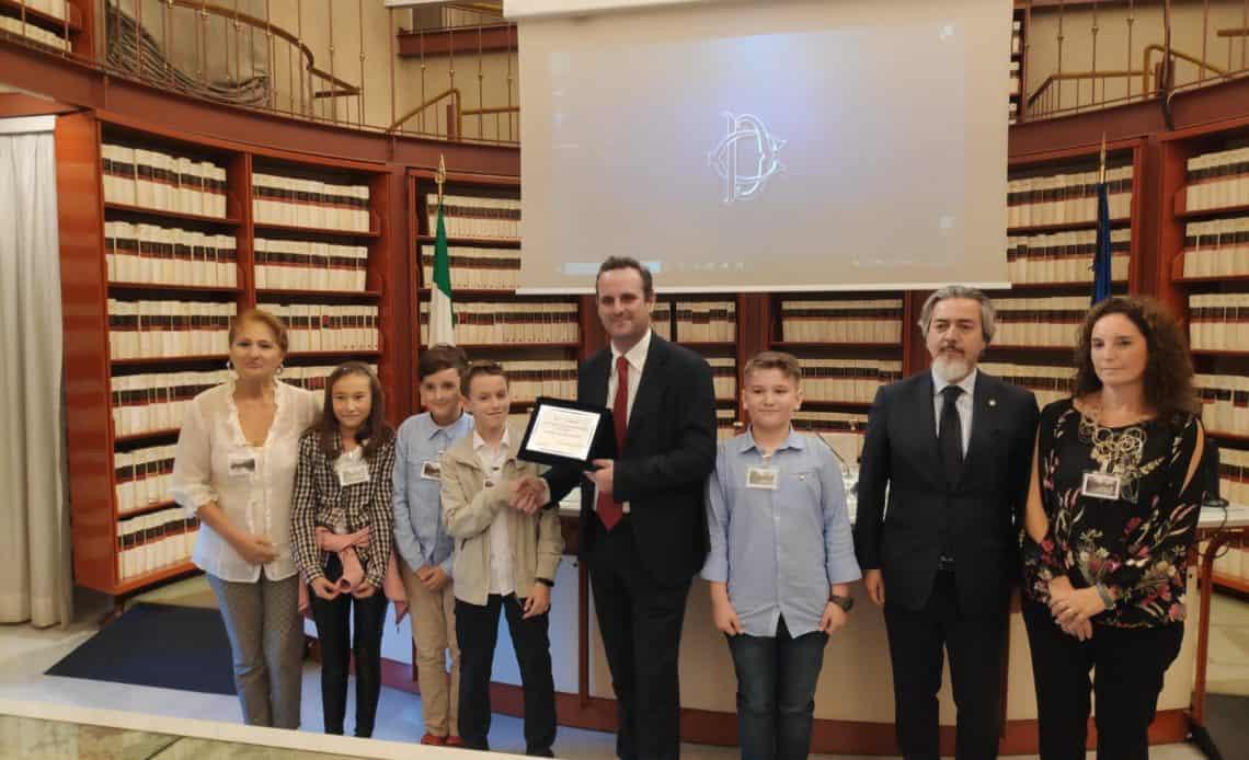 """""""A scuola di Parlamento """" con gli alunni dell'istituto Ladispoli 1"""