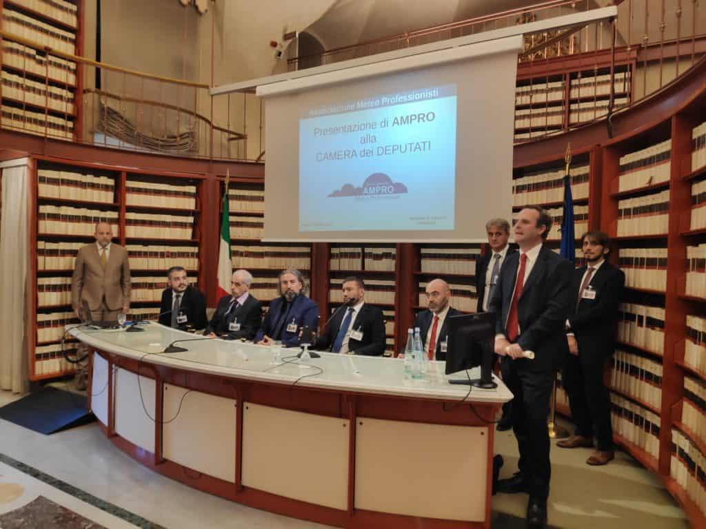 L'Ampro ricevuta alla Camera ospite dell'onorevole Battilocchio