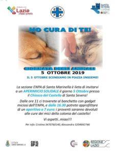 Al Castello di Santa Severa aperimicio solidale per la Giornata mondiale degli animali