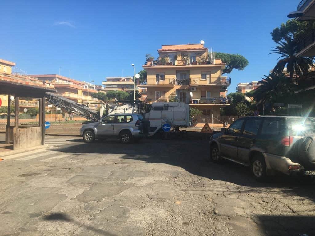 Ladispoli, lavori in piazza Domitilla, il PD