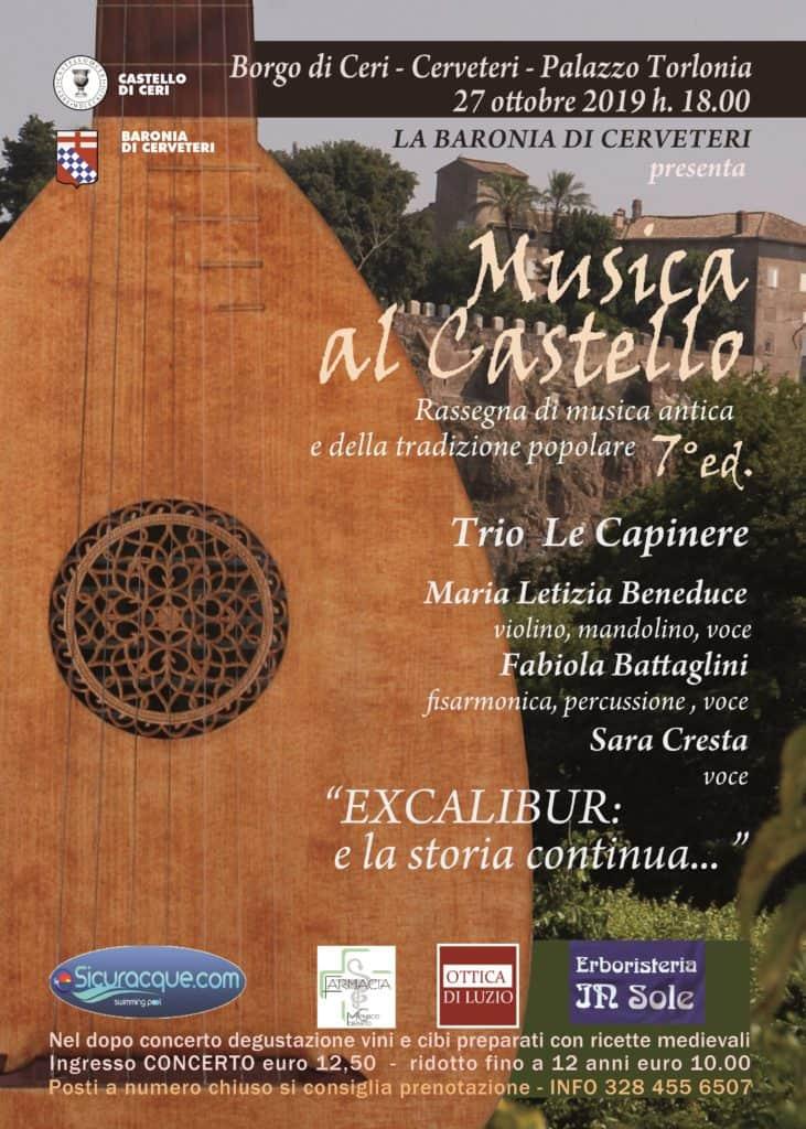 Nella storica cornice del Borgo di Ceri grande successo del concerto dell'Orchestra Mandolinistica Romana