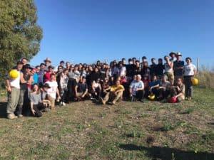 Civitavecchia, gli studenti dello Stendhal in visita ad Aque Tauri