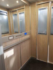 Manziana, terminati i lavori di rifacimento dell'ascensore comunale