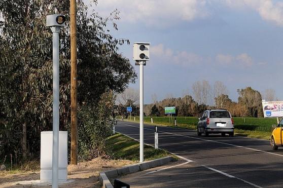 Civitavecchia, da domani in funzione due autovelox a Borgata Aurelia