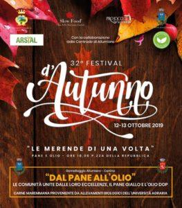 Allumiere, 32esimo Festival d'Autunno con 'Le merende di una volta'