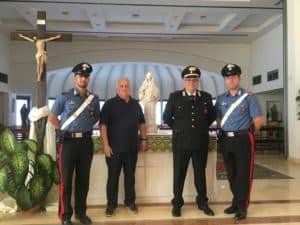 Cerveteri, i Carabinieri ritrovano Statua della Madonna di Medjugorje della Chiesa SS. Trinità