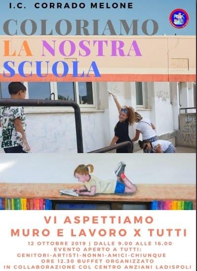 Ladispoli, Agresti: ''Sabato 'Coloriamo la nostra scuola''