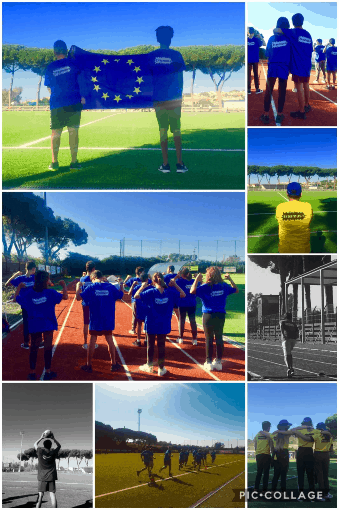 """""""Run the relay proud to be European"""""""