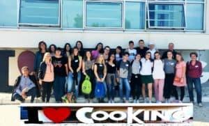 Civitavecchia, studenti spagnoli e tedeschi ospiti allo Stendhal