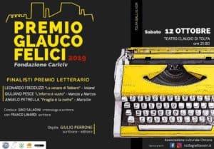A Tolfa torna il Premio Glauco Felici del fortunato Festival letterario 'Gialli&Noir'